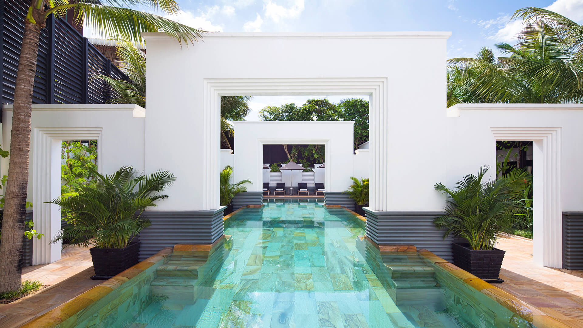 salt water lap pool