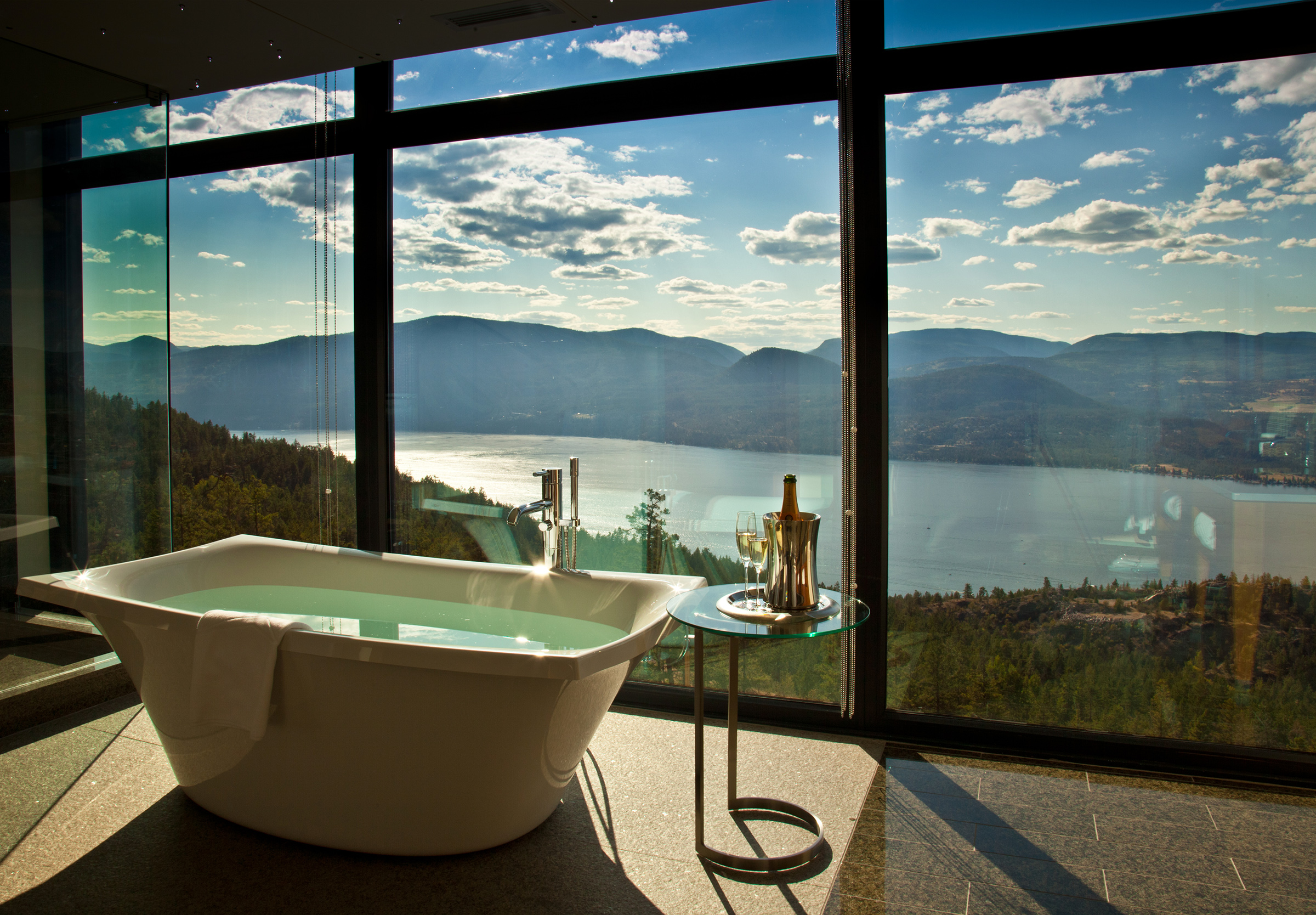 Sparkling Hill Resort and Wellness Hotel Penthouse Bathtub
