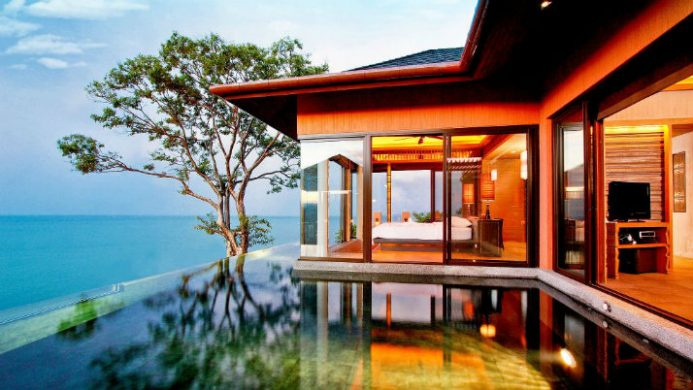 Sri Panwa Private Infinity Edge Pool over Ocean