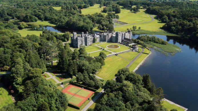 Ashford Castle Aerial