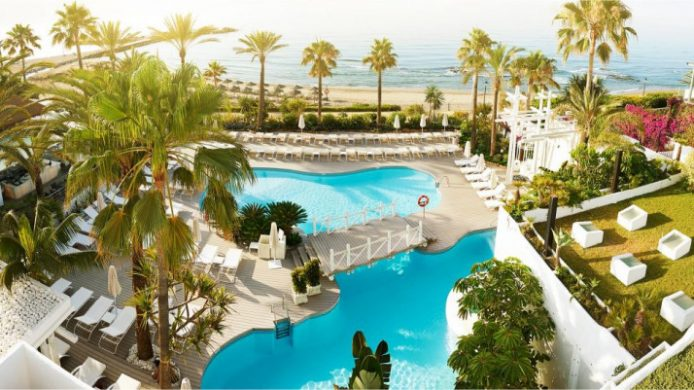 Puente Romano Beach Resort & Spa, Marbella Outdoor Pools and Beach