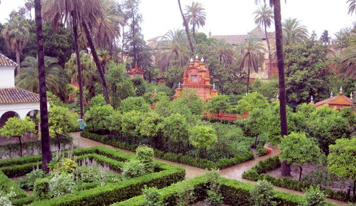 Real Alcázar, Gardens