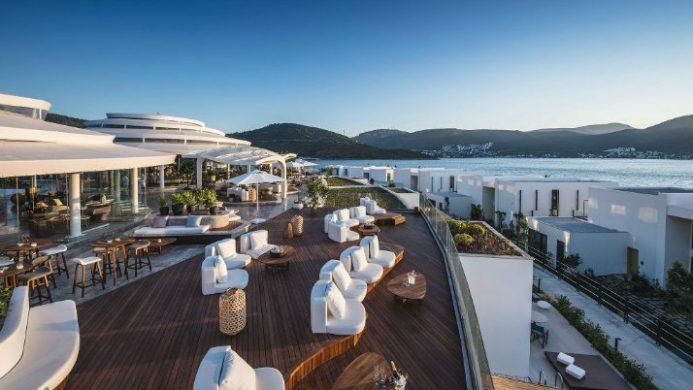 Nikki Beach resort & Spa, Bodrum, Turkey