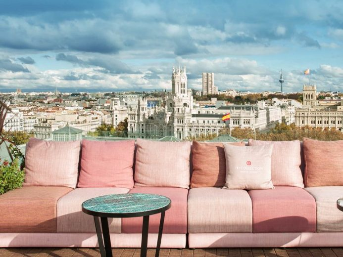 NH Collection Madrid Suecia rooftop