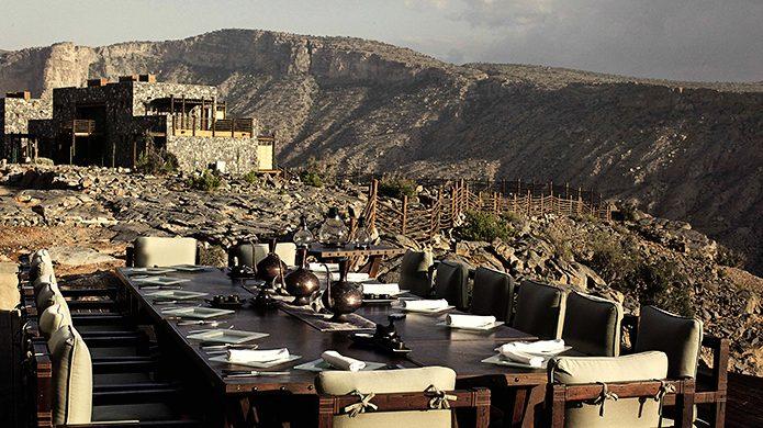 Alila Jabal Akhdar Juniper Restaurant