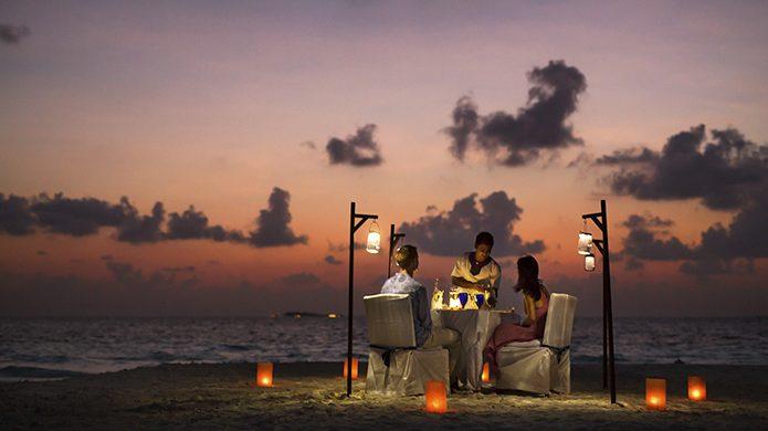 Banyan Tree Maldives Vabbinfaru Private Dinner