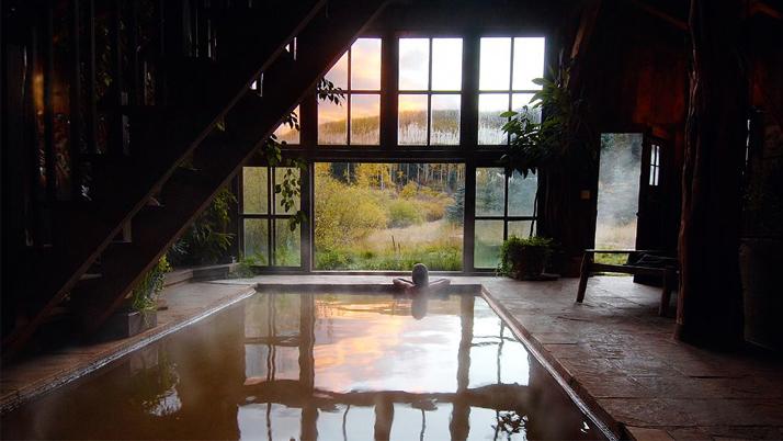 Dunton Hot Springs Indoor Thermal Bathhouse