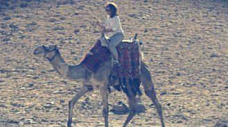 Lotte Davis camel riding