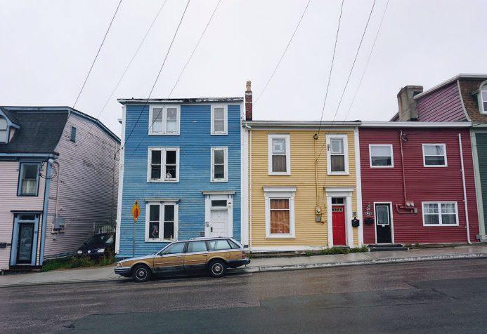 St John's row houses
