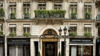 Park Hyatt Paris-Vendome Facade Feat