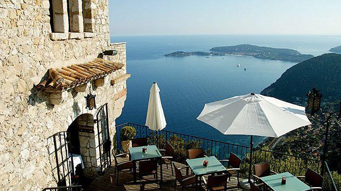 Château Eza Restaurant Terrace