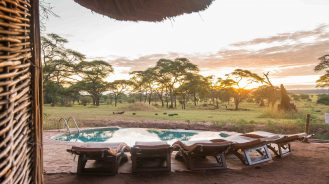 Sanctuary Swala Camp Sunrise Pool