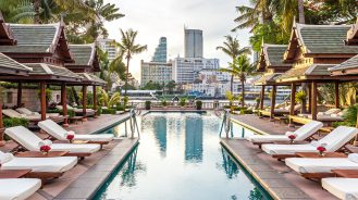 The Peninsula Bangkok Pool Large