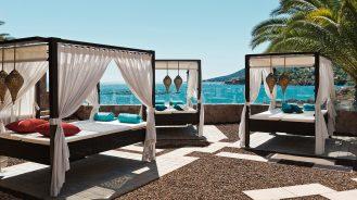 Tiara Miramar Beach Hotel & Spa Cabanas