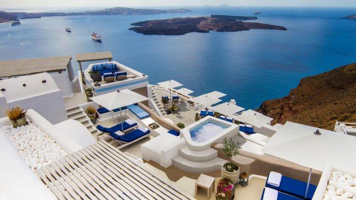 10 Questions: Vella Ramasawmy, Iconic Santorini