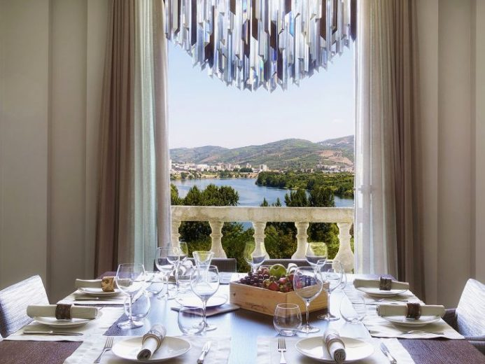 Six Sense Douro Valley Dinner View
