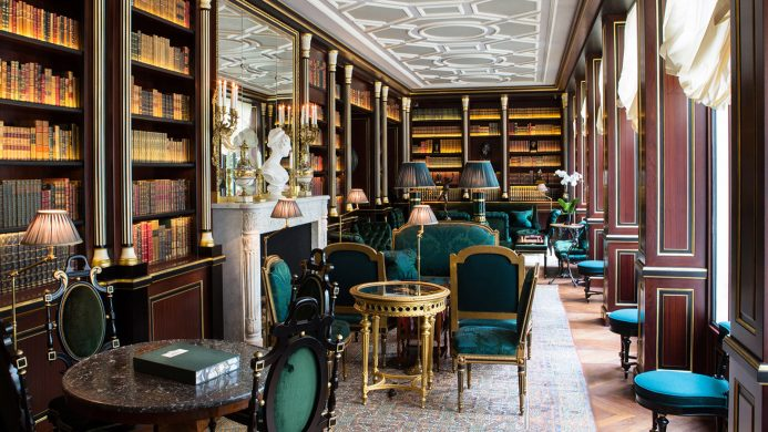 Hotel Libraries to Curl Up In