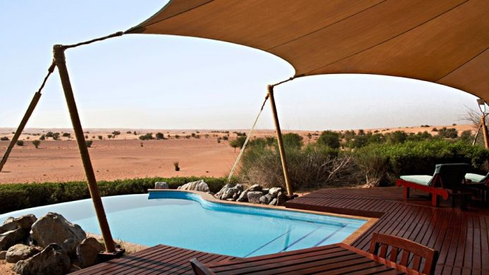 Al Maha Luxury Collection Desert Resort & Spa Dubai Tented Pool