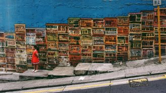 Hong Kong street art