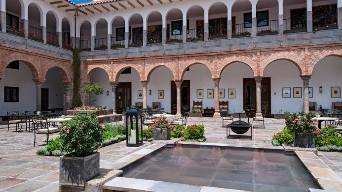 JW Marriott El Convento Cusco Courtyard Arches