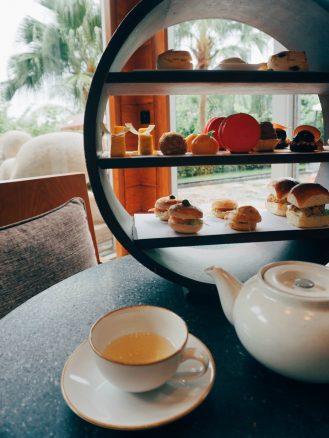 Mandarin Oriental Sanya tea