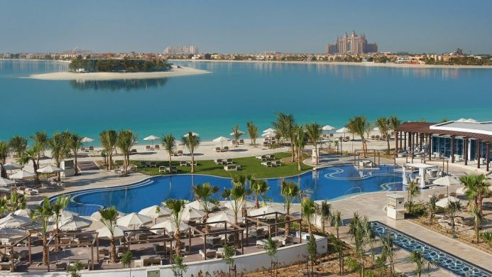 Waldorf Astoria Dubai Palm Jumeirah Pool View