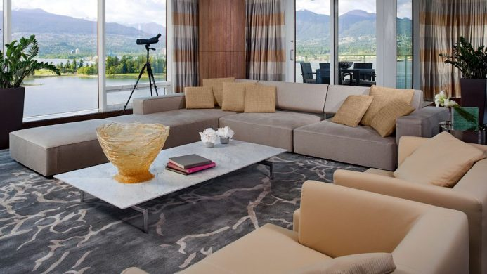 Fairmont Pacific Rim Presidential Suite