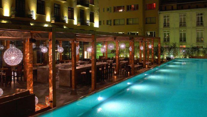 Park Hyatt Istanbul Macka Palas poolside dining
