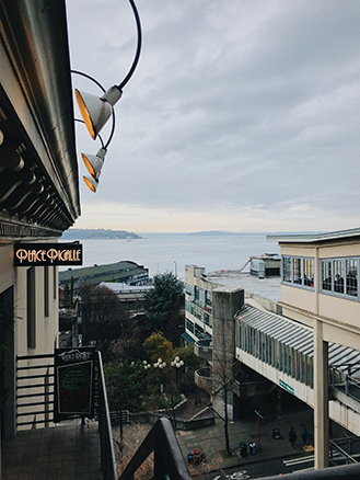 Pike Place ocean view