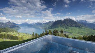 Hotel Villa Honegg Panoramic Pool Mountain View