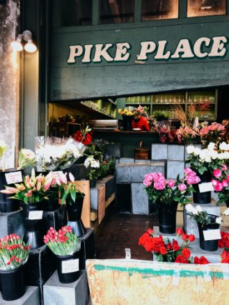 Pike Place Marketing flowers