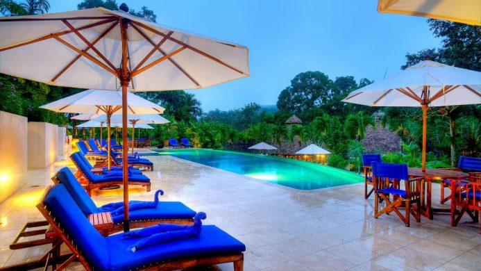 Lodge at Chaa Creek pool