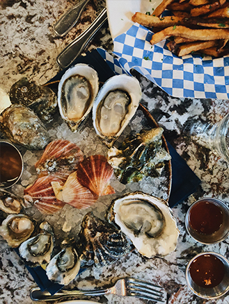 Taylor's Shellfish oysters