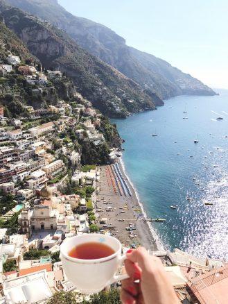 Hotel Villa Franca view Amalfi