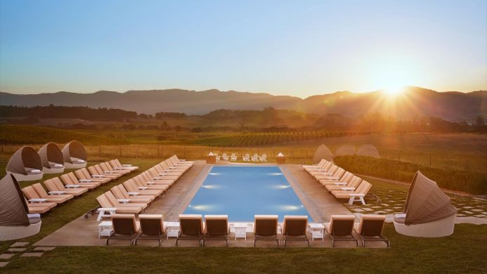 Carneros Resort & Spa main pool