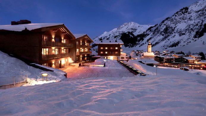 Aurelio Lech Hotel ski hill