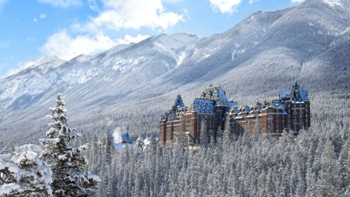 Fairmont Banff Springs Hotel Rocky Mountains