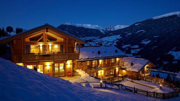 Hochleger Chalets Austria, ski in ski out