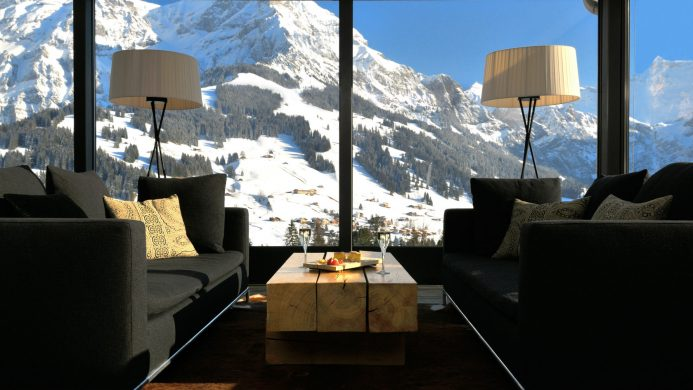 Luxe Hotels Next to World Class Ski Resorts