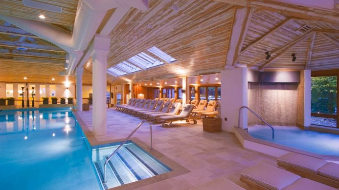 Topnotch Resort Vermont pool