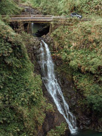 waterfall on the way to Hana