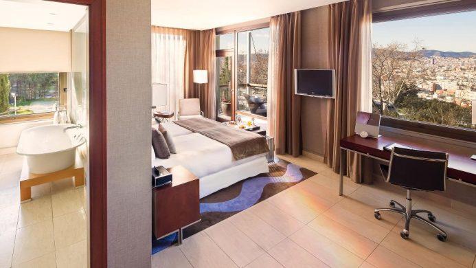 Hotel Miramar Barcelona suite