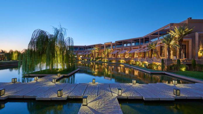 Mandarin Oriental Marrakech Marrakech pool garden