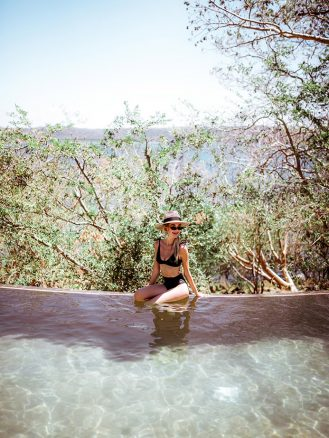 Poolside at the Andaz Papagayo