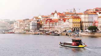 Douro River Panoramic Shot
