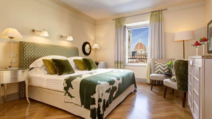 Hotel Savoy Florence room with view of Duomo