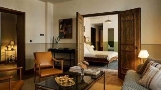 Sanders hotel room