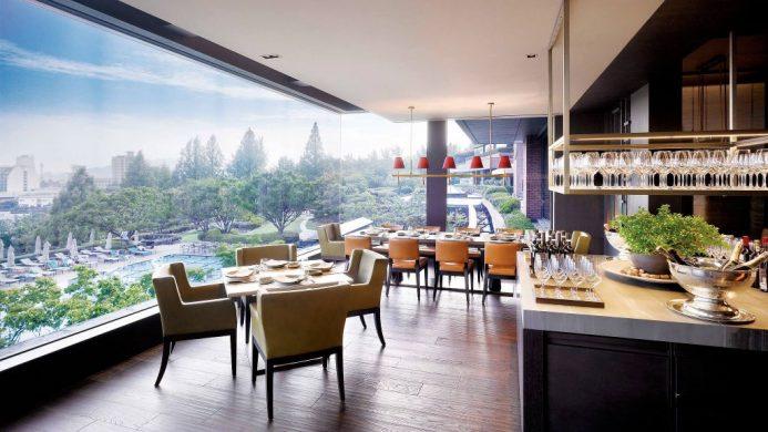 Grand Hyatt, Seoul, South Korea dining
