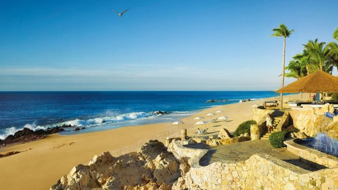 One&Only Palmilla Cabo surfing