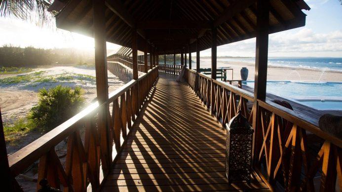 Sentidos Beach Retreat, Inhambane, Africa walkway